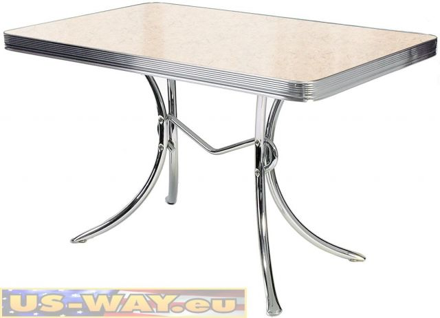 Bel Air Set 4 Stühle Und 1 Tisch D CO36