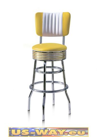 reproduktion amerikanischer dinerbarhocker fach versandhandel us way e k. Black Bedroom Furniture Sets. Home Design Ideas