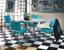 Bel Air Lot de 4 chaises et 1 table D-CO24